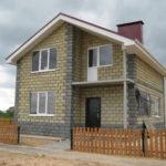 Дом из кремне-гранитных блоков