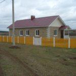 Дом из кремнегранитных блоков на две семьи