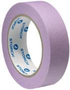 Лента малярная бумажная сверхтонкая фиолетовая