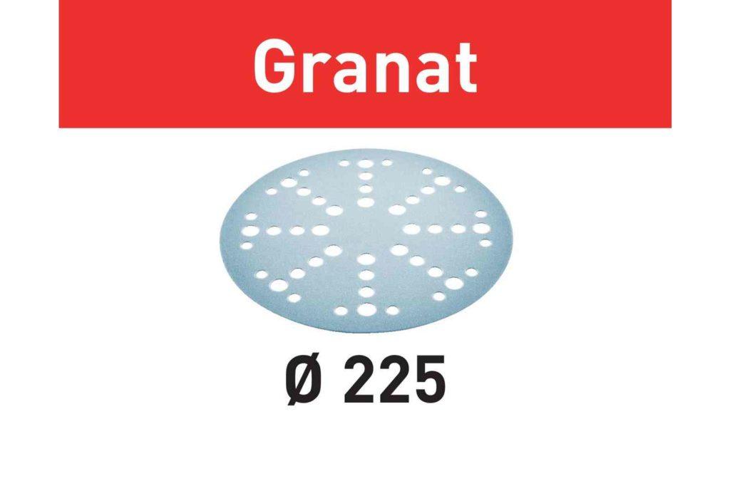 Шлифовальные круги Granat STF D225/48 P60 GR/25