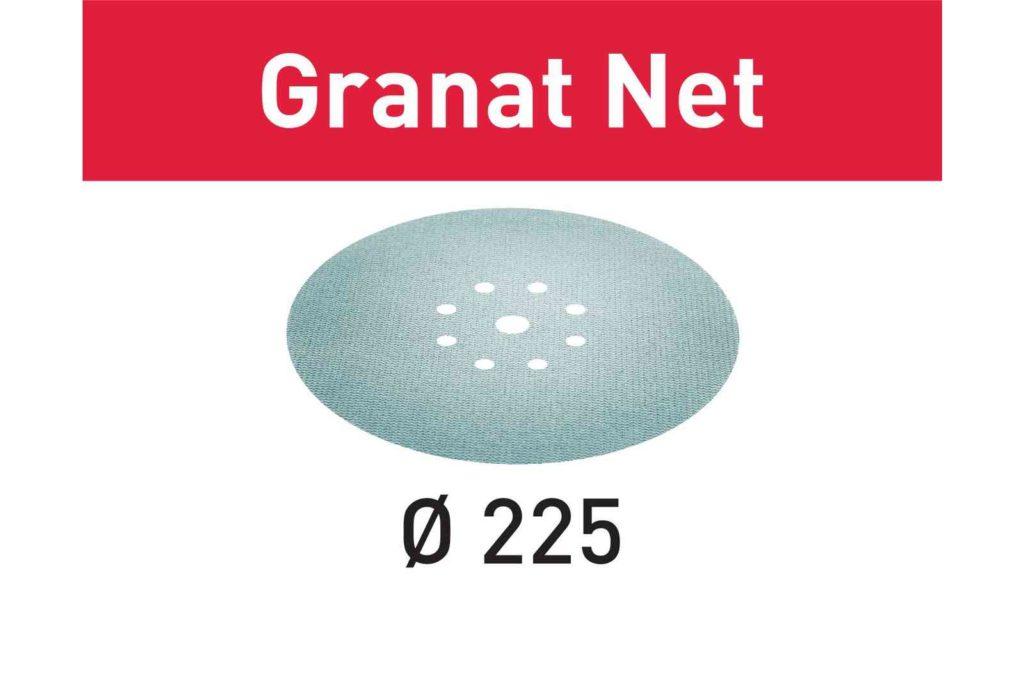 Шлифовальный материал на сетчатой основе Granat Net STF D225 P150-400 GR NET/25