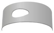 Броня 6 мм лист с отверстием BM450, PM740 429862