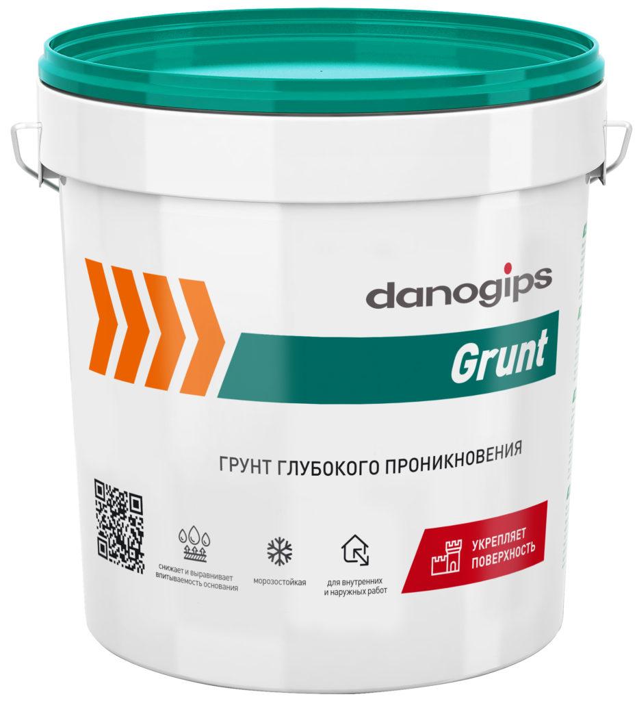 DANOGIPS GRUNT грунтовка глубокого проникновения