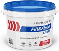 DANOGIPS шпатлевка готовая финишная Fill&Finish Light (облегченная) 10л