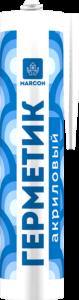 Герметик акриловый белый MARCON 310мл