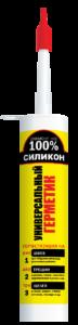 Герметик Ремонт на 100% U универсальный, силиконовый, бесцветный, 260 мл