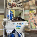 Мини-обзор НОВОЙ штукатурной станции Kaleta A6