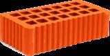Кирпич строительный одинарный щелевой 65х120х250 мм рифленый
