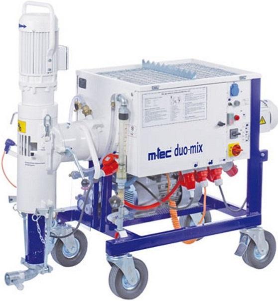 Штукатурная станция M-TEC duo-mix 2000 400В 5,5 кВт