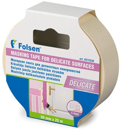 Малярная лента для деликатных поверхностей Folsen