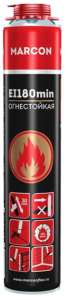 Монтажная пена MARCON PRO (огнестойкая)