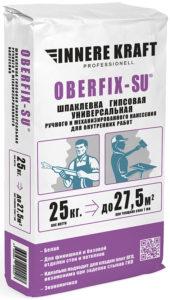 OBERFIX-SU Шпатлевка гипсовая универсальная ручного и механизированного нанесения