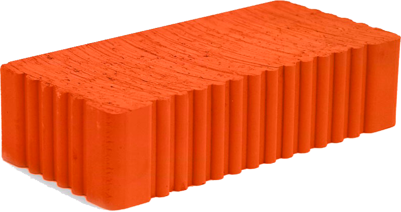 Кирпич одинарный полнотелый 250х120х65 мм