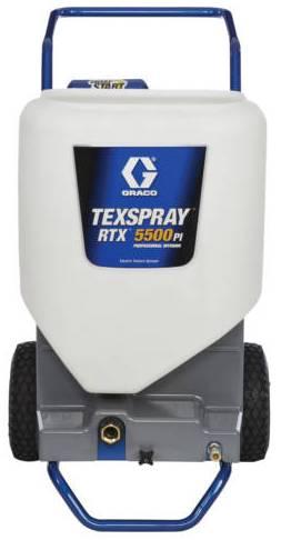 Окрасочный аппарат для нанесения текстурных покрытий GRACO RTX 5500PI