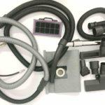 Пылесос ASPRO-VC1 предназначен для эксплуатации в условиях строительных площадок, на территории фабрик и заводов, коммерческого использования в магазинах, офисах, социальных учреждениях. Пылесос подходит для уборки сухой негорючей пыли и для уборки жидких загрязнений. ASPRO-VC1 имеет оптимальное соотношение разрежения, производительности и площади фильтрующего элемента для совместной работы с такими шлифмашинами, как: ASPRO-С3, ASPRO-С6, ASPRO-С8, ASPRO-1010А, ASPRO-D3. Одно из предназначений строительного пылесоса-эффективное пылеудаление при синхронной работе с электроинструментом (шлифовальные машины, электролобзики, циркулярные пилы, штроборезы и т.п.) Для этого, на корпусе пылесоса предусмотрена электрическая розетка. При подключении к ней электроинструмента, пылесос будет синхронно включаться с подключенным инструментом и выключаться через несколько секунд после выключения инструмента для удаления остатков пыли из отводящего шланга. Также, пылесос имеет модуль для синхронизированной работы не только электрического инструмента, но и инструмента, приводимого в действие сжатым воздухом, например, для шлифовальных и полировочных машин, используемых в автомастерских при кузовных работах. При работе со шлифовальным инструментом, создающим пыль с частицами малого размера, высокоэффективно проявляет себя система тройной фильтрации, реализованной в строительном пылесосе ASPRO-VC1. Первым этапом фильтрации является сбор пыли в мешок, находящийся в верхнем бункере; затем мелкие частицы пыли, выходящие из мешка, проходят через второй этап фильтрации- аквафильтр (загрязненный воздух проходит через воду, улавливающую ультра тонкие частицы пыли. После использования загрязненная вода сливается, контейнер пылесоса промывается. Для предотвращения превышения уровня жидкости в контейнер пылесоса встроен поплавковый выключатель). На последней стадии фильтрации, выходящий в окружающее пространство воздух, проходит через фильтр HEPA. Отметим, что пылесос предназначен для работы с пы