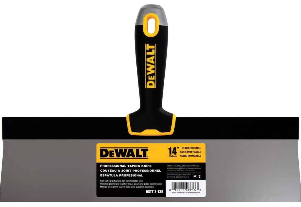 Шпатель для шпатлевки DeWalt