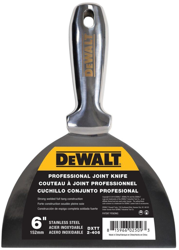 Шпатель литой 15 см DeWalt