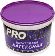 Шпатлевка латексная PROMIX ведро 28кг