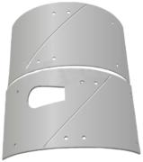 Комплект брони 6 мм Brinkmann со смещенным выходом