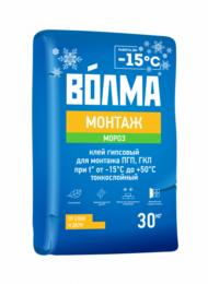 Волма Монтаж Мороз клей для ПГП