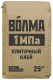 ВОЛМА плиточный клей 1 МПа