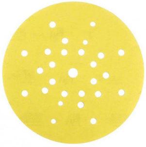 Шлифовальный диск D=225мм P40-320 Gold MIRKA (27 отв.)